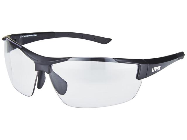UVEX sportstyle 612 VL Brille black mat/smoke